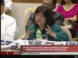 Ex-PCSO official grilled in Senate