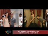 Star Magic artists gear up for ball