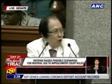 Cuevas raises specter of impeachment 'mistrial'