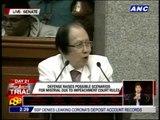 Cuevas raises specter of impeachment 'mistrial'