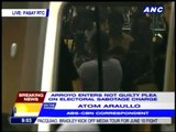 Arroyo pleads not guilty in electoral sabotage case