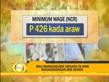 Labor groups call for salary hike