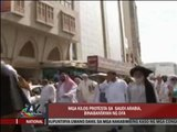Gov't watching Saudi Arabia protests closely