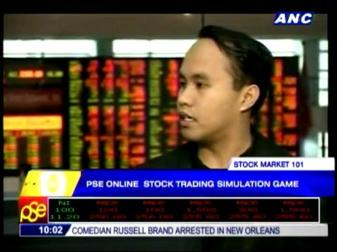 Online game teaches newbies how to trade stocks