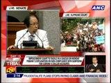 Cuevas says SC co-equal to impeach court