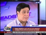 'Ampatuan, Bedol exposés to ABS-CBN triggered resignation'