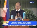 Aquino: US investors like what they see in PH