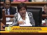 Senator-judges to discuss proposed Sereno testimony