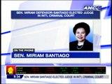 ICC seat is achievement of PH - Miriam Defensor Santiago