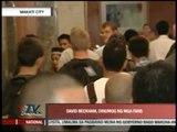 Beckham, LA Galaxy meet the press