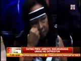 Gloria Arroyo suffering depression