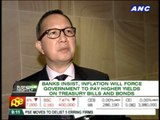 Inflation to force gov't to pay higher bond yields -- bankers