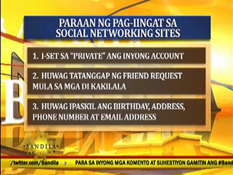 NBI: Posting personal info on social networking sites risky
