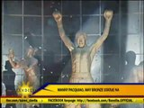 Pacman statue unveiled in Pasay mall