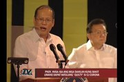 PNoy: Senator-judges should listen to people's will