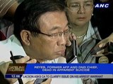 Angelo Reyes dies in middle of corruption mess