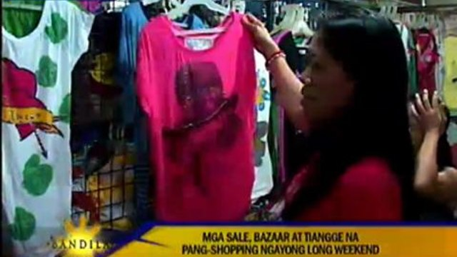 Bazaars, sales open for Christmas shopping