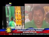 Bayan Patroller reports poll violence