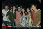 Kapamilya stars attend Sam Milby's send-off party