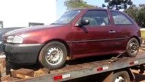 PRF localiza veículo Gol com registro de furto