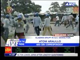 Clashes erupt in Q.C. demolition