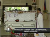 Mendoza laid to rest in Batangas