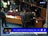 Senator doubts Corona will tell all
