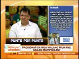Punto por Punto: Pagkidnap sa mga walang muwang, kailan mapipigilan?