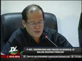 PAGASA to Aquino: We need better equipment for accurate forecast