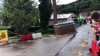 La course de tracteurs tondeuses de Moussey comme si vous y étiez
