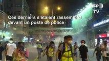 Hong Kong : la police tire des gaz lacrymogènes sur les manifestants