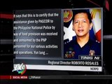 PAGCOR to probe P21-M burger donation to PNP