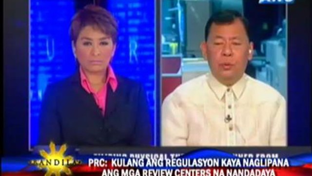 'Review centers need regulation'