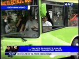Palace supports e-bus to lower transport fees