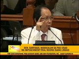 Miriam rues 'slow' pace of impeachment trial