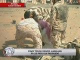 Pinoy killed in Riyadh blast named