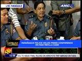 Police hold presscon on Ram Revilla murder case