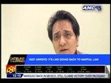Exclusive: Iggy hits govt's 'dirty tactics' vs Arroyos
