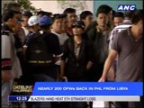 200 more OFWs arrive from Libya