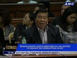 Senate probe focuses on Ligot brother-in-law