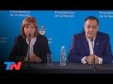 Vamos por el voto, el alma y el corazón de los argentinos  Bullrich en el CCK