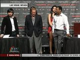 Pacquiao, Mosley with beaus for Valentine's