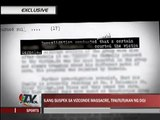 EXCLUSIVE: De Lima pursues new lead in Vizconde case