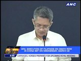 DFA: China sets execution of 3 Pinoys