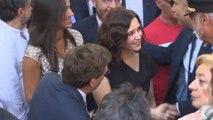 Ayuso se estrena como presidenta electa en las Fiestas de la Paloma