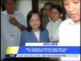 GMA files response to plunder rap