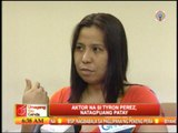 Wife of Tyron Perez admits marital problems