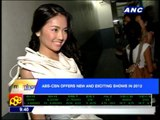 ABS-CBN offers new shows in 2012