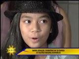 Maria Aragon in Manila; thrilled to be Kapamilya