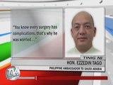 OFW hurt in Saudi blast refuses to undergo operation